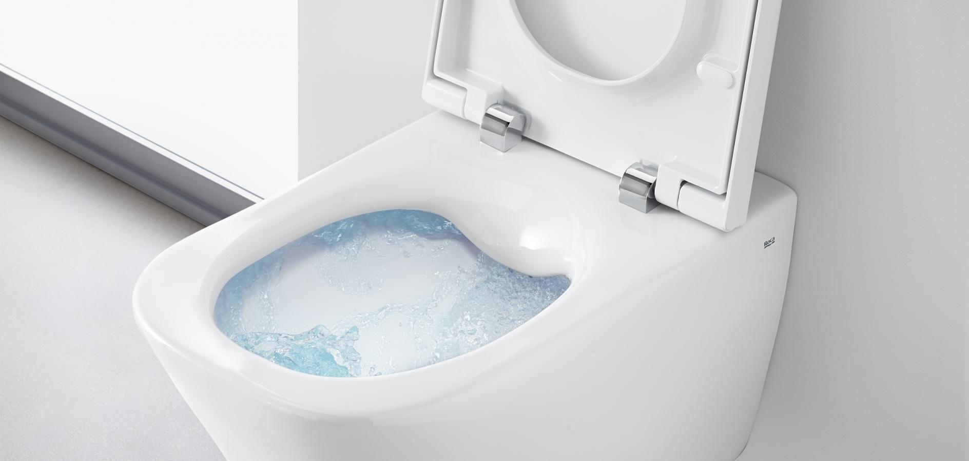 Toalete Rimless de la Roca